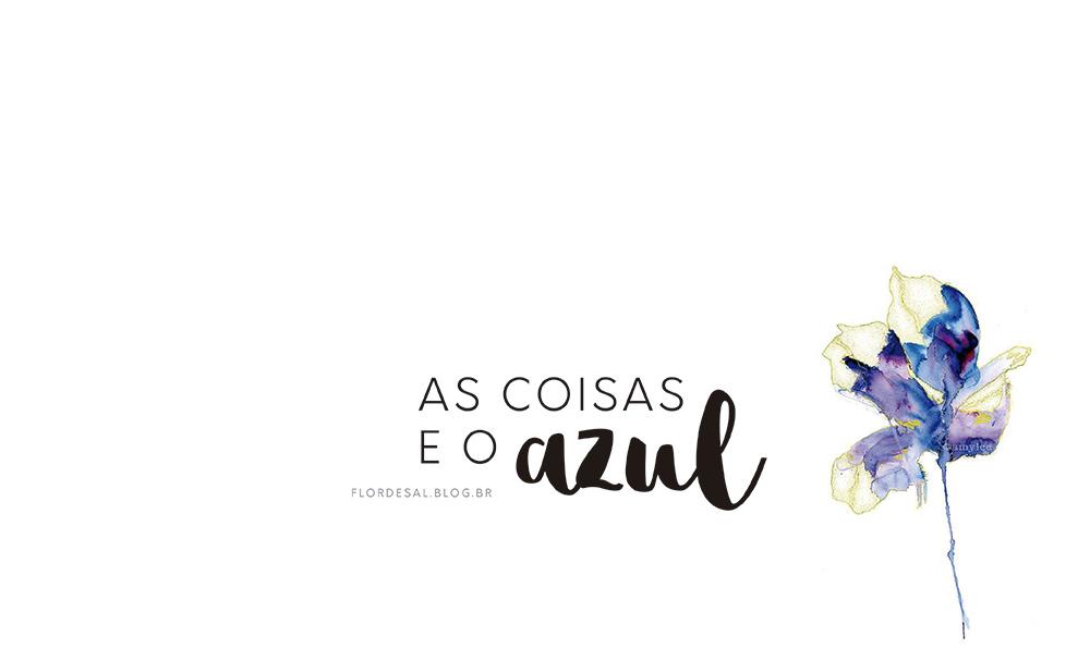 AS COISAS E O AZUL